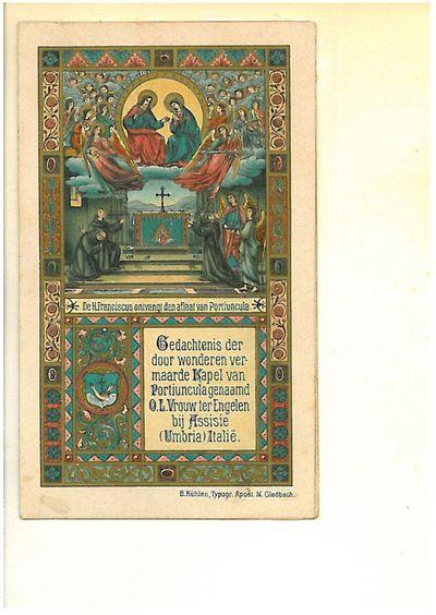 Mirakuleuze rozenlaar van Franciscus