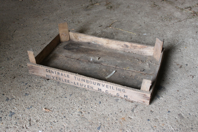 Kist van de centrale tuinbouwveiling te Heverlee