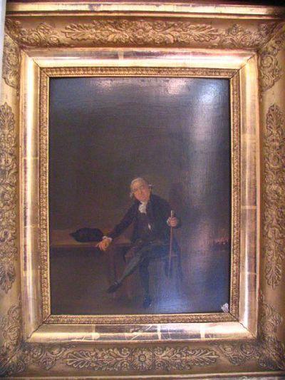Portret van André-Henri Collins