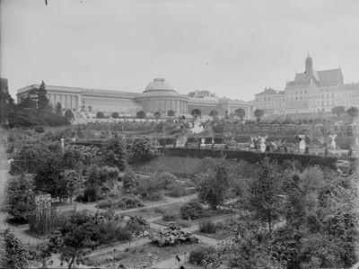 Jardin botanique de Bruxelles : Ecole éthologique, jardin italien et bâtiment principal #0096
