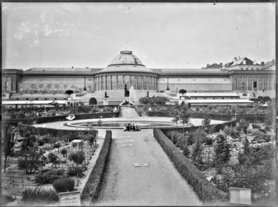 Jardin botanique de Bruxelles : Ecole de botanique et bâtiment principal #0136