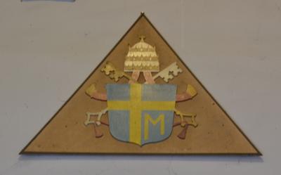 Wapenbord Paus Johannes-Paulus II