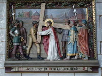 Kruiswegstatie 2