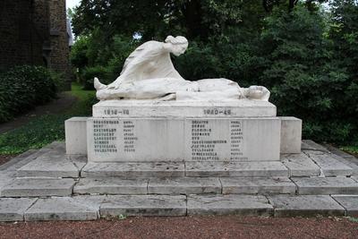 Oorlogsmonument ter ere van de gesneuvelden uit de deelgemeente Lot