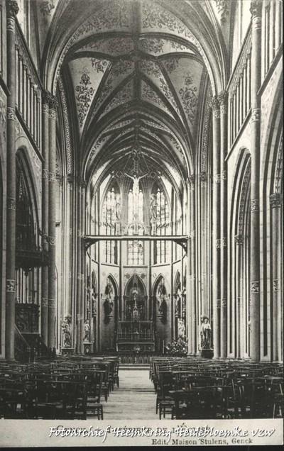 Genck - Intérieur de l' Eglise