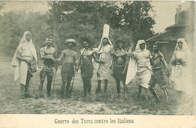 Guerre des Turcs contre les Italiens.