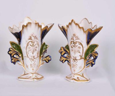 Set van twee siervazen