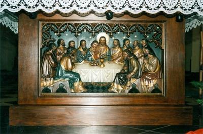 altaar op het priesterkoor