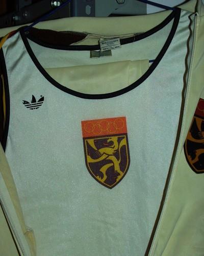 Singletje (turnen?) Belgische delegatie Olympische Spelen 1980 Moskou.