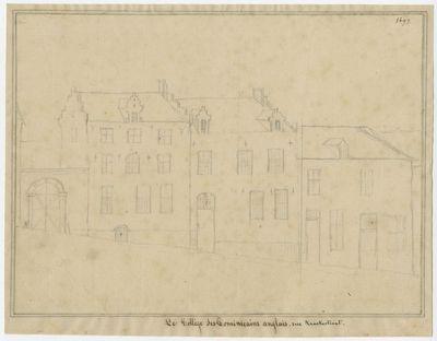 Le Collège des Dominicains anglais. Rue Kraekestraat