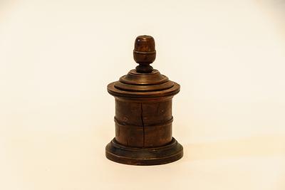 houten hostiedoos
