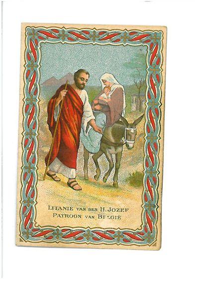 Vlucht naar Egypte, Litanie van H. Jozef