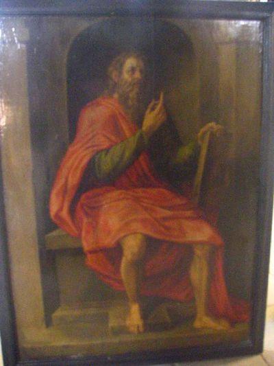 De heilige Paulus van Thebe