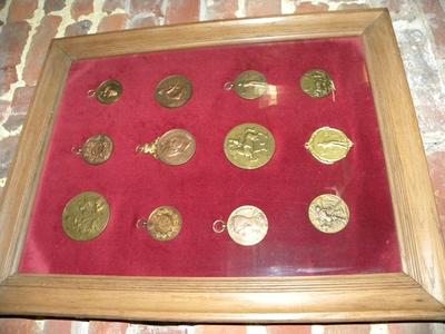 Medailles hoptentoonstelling