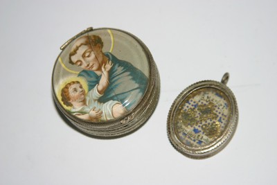 Maria, HH. Franciscus en Antonius
