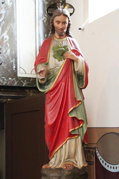 Beeld van Christus met het Heilige Hart