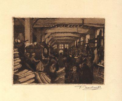Overdekte markt in de Vleeshal van Leuven