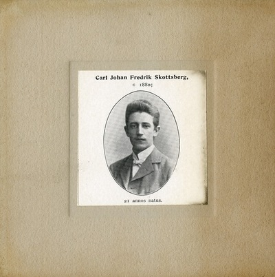 [PORTRAIT] Carl Johan Fredrik Skottsberg
