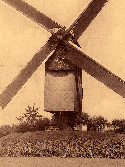 Windmolen te Leerbeek