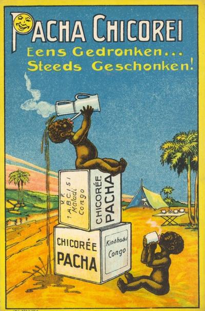 Industrie Halle (Pacha) - Pacha Chicorei. Eens Gedronken...Steeds Geschonken !