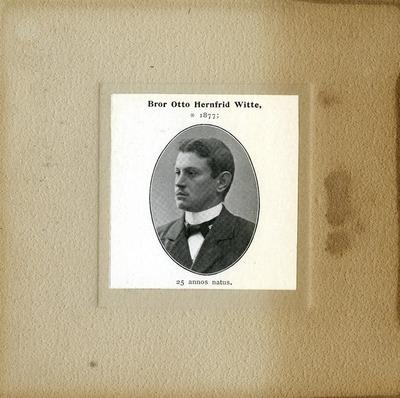 [PORTRAIT] Bror Otto Hernfrid Witte