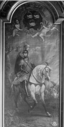 Portret van ridder Van Calsteren