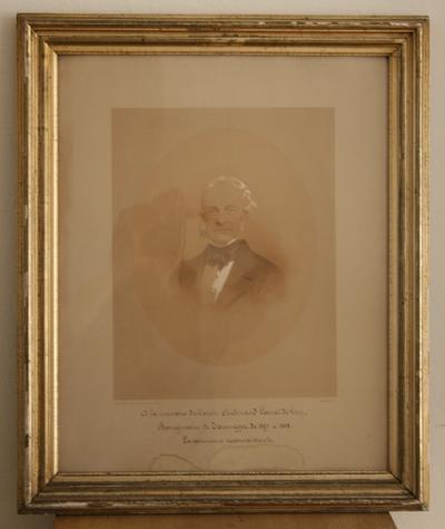 Graaf Ferndinand Cornet de Grez, burgemeester van Dworp van 1827 tot 1867