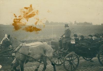 Inhuldiging van pastoor Kestens in 1921