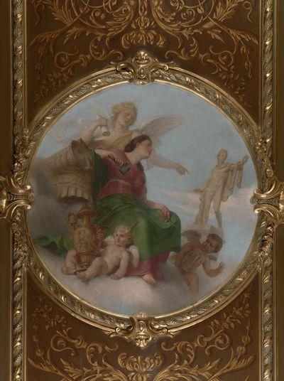 Allegorie van de beeldhouwkunst
