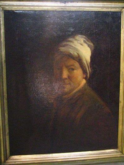 Portret van de schilder Pieter-Jozef Verhaghen