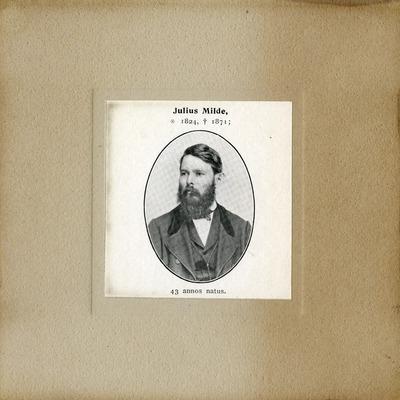 [PORTRAIT] Julius Milde