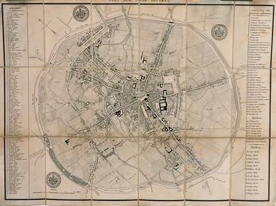 Plan der stad Leuven