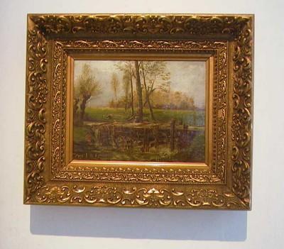 Djef Anten (1851-1913), De Meukens en Godsheide, s.d., olie op doek.