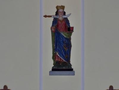 beeld Helige Lucia van Syracuse