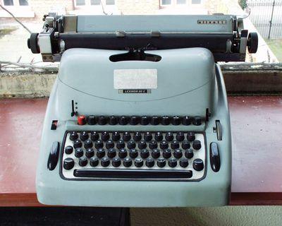 mechanische schrijfmachine