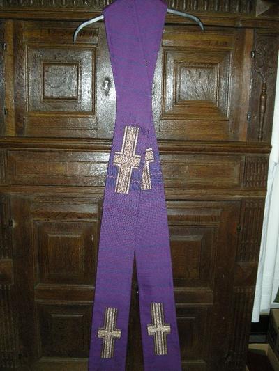 paarse stola