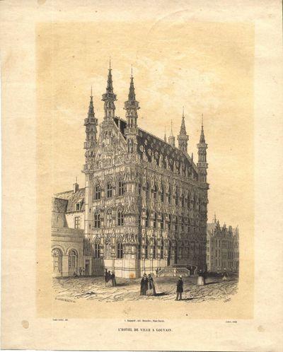 L'Hotel de Ville a Louvain