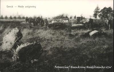 Genck - Heide ontginning