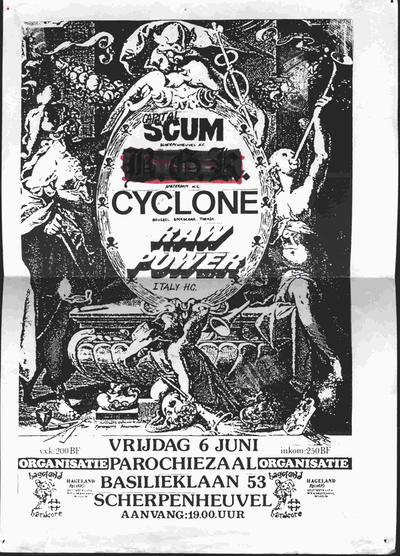 Capital Scum - Cyclone - Raw Power