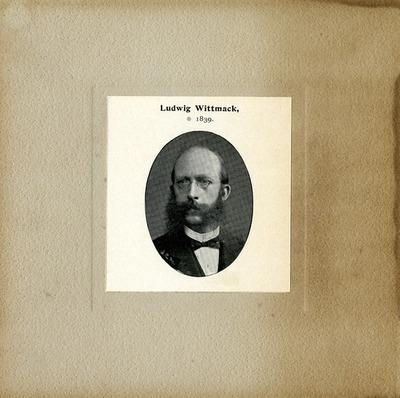 [PORTRAIT] Ludwig Wittmack