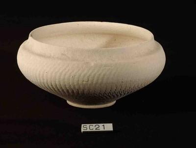 Volledige kom in geverfd aardewerk (GV)