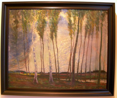 Gaston Joseph Wallaert, (1889-1954), Na de regen, 1914, olie op doek.