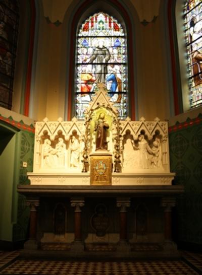 Zijaltaar van de heilige Antonius van Padua