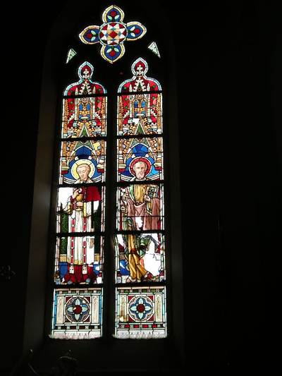 heilige Carolus Borromeus en heilige apostel Petrus