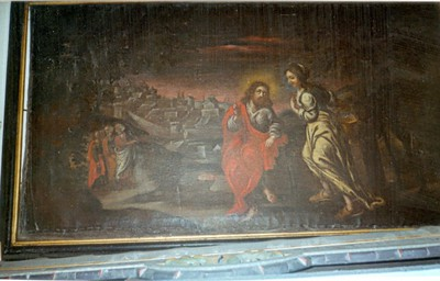 Jezus en de Samaritaanse vrouw bij de waterput