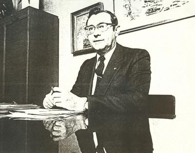 Jean Nicolaï (°1951), portret Lou Nagels (1923-2003), s.d., papier.