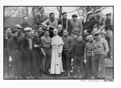 Broederbijeenkomst van de Zuid West-Vlaams renners 1938 Vélodrome de la Lys
