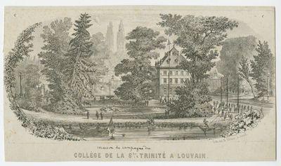 Collège de la Ste Trinité à Louvain