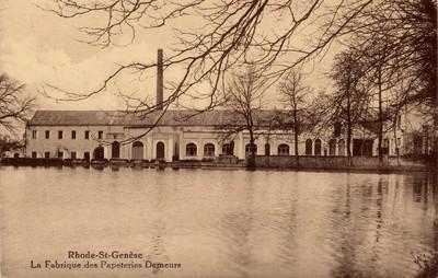 Papierfabriek in Sint-Genesius-Rode