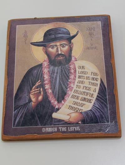 Damien the leper